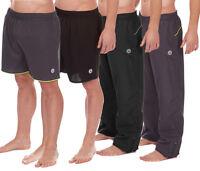 Mens Boys Tracksuit Track Pants Shorts Sports Bottoms Pant Short Pe School