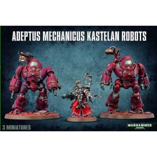 Warhammer 40k - Adeptus Mechanicus Kastelan Robots Robots Robots