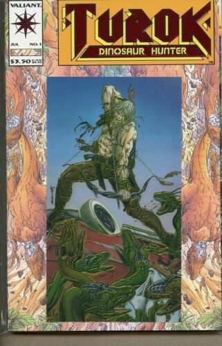 Turok Dinosaur Hunter 1993 series # 1 near mint comic book