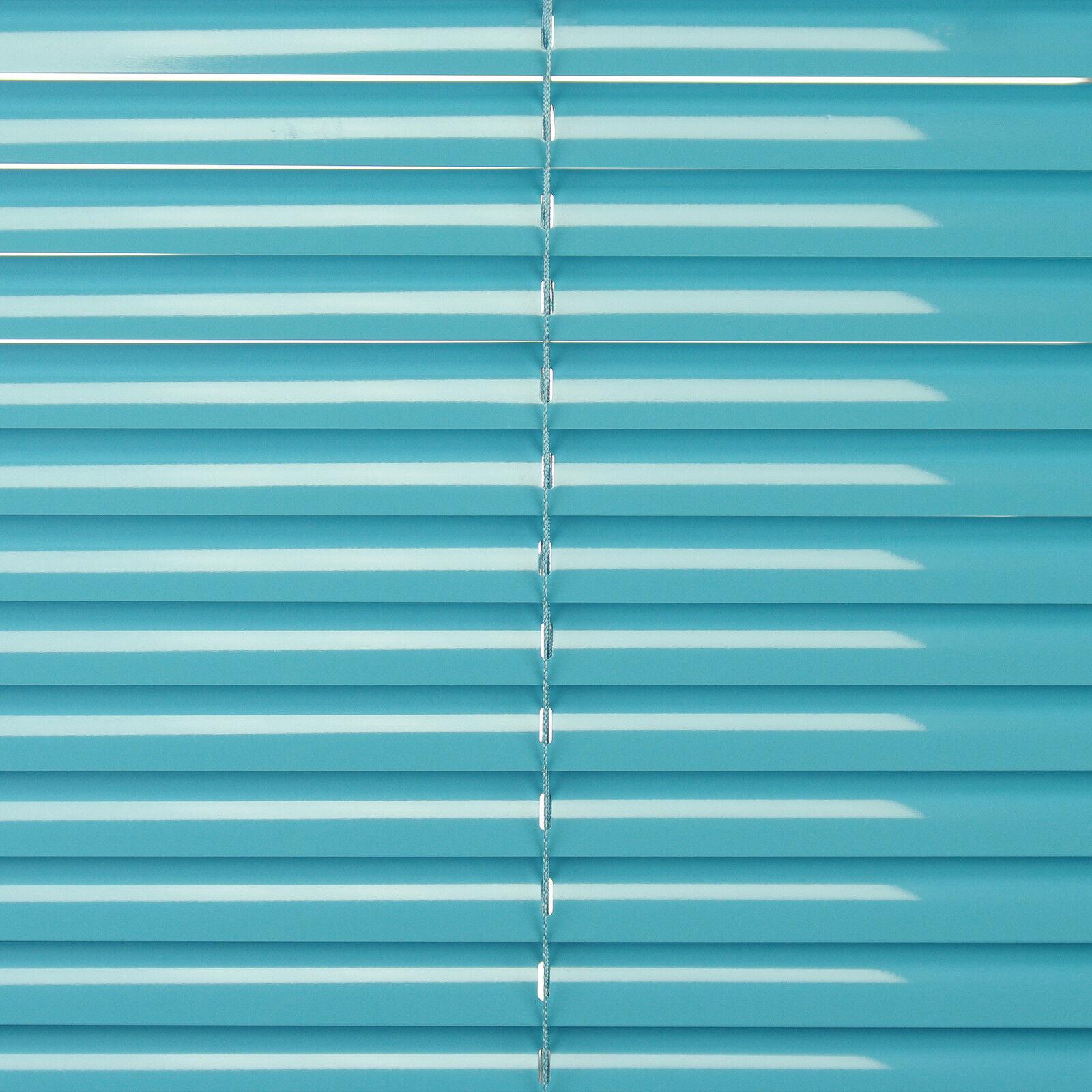 Alu Jalousie Jalousie Jalousie Aluminium Lamelle Fenster Rollo Jalousette 120 x 160 cm Blau Lagoon | Mama kaufte ein bequemes, Baby ist glücklich  7a0452