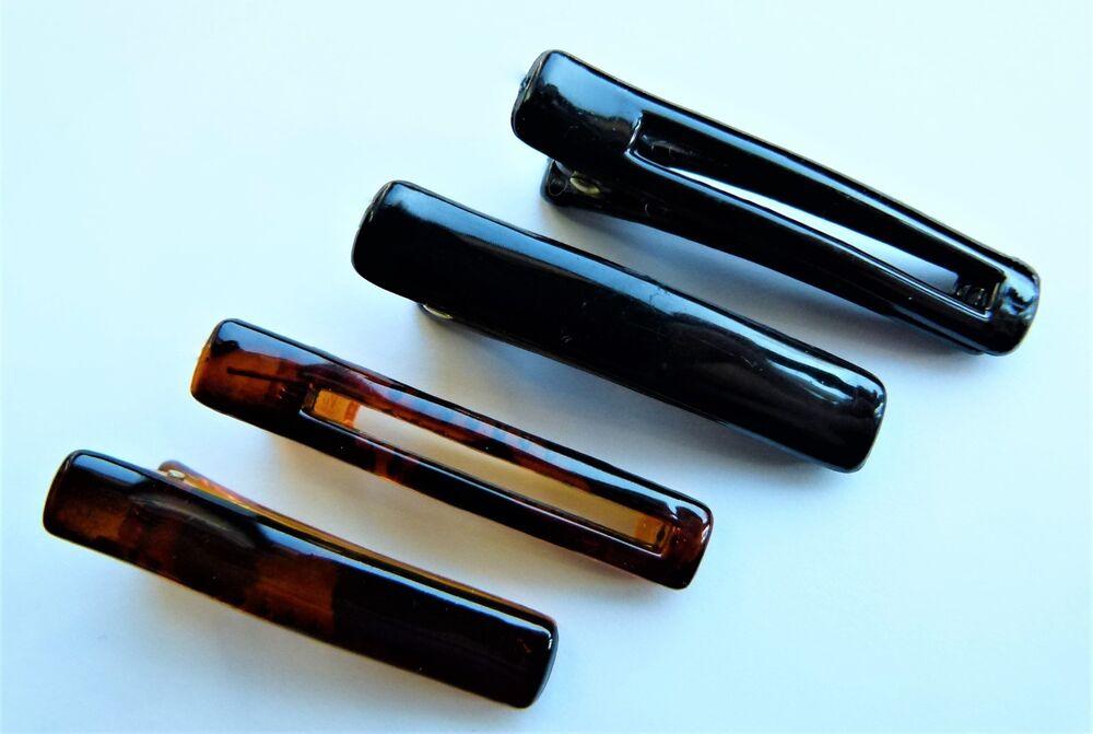 12 Haarclips Pince à Cheveux Neuf Noir Marron Clip épingle à Cheveux Mode Bijoux De Cheveux Coiffure MatéRiaux De Choix