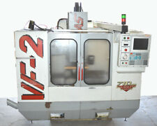 Haas Vf 2 Cnc Vertical Machining Center Mill 3ph Industrial 2 Axis 40ct Taper 96