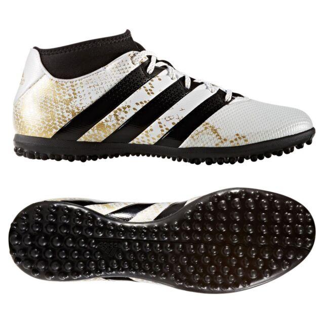 adidas Ace 16.3 Primemesh TF Turf 2016 Soccer Shoes White   Gold Kids -  Youth 0632c715e
