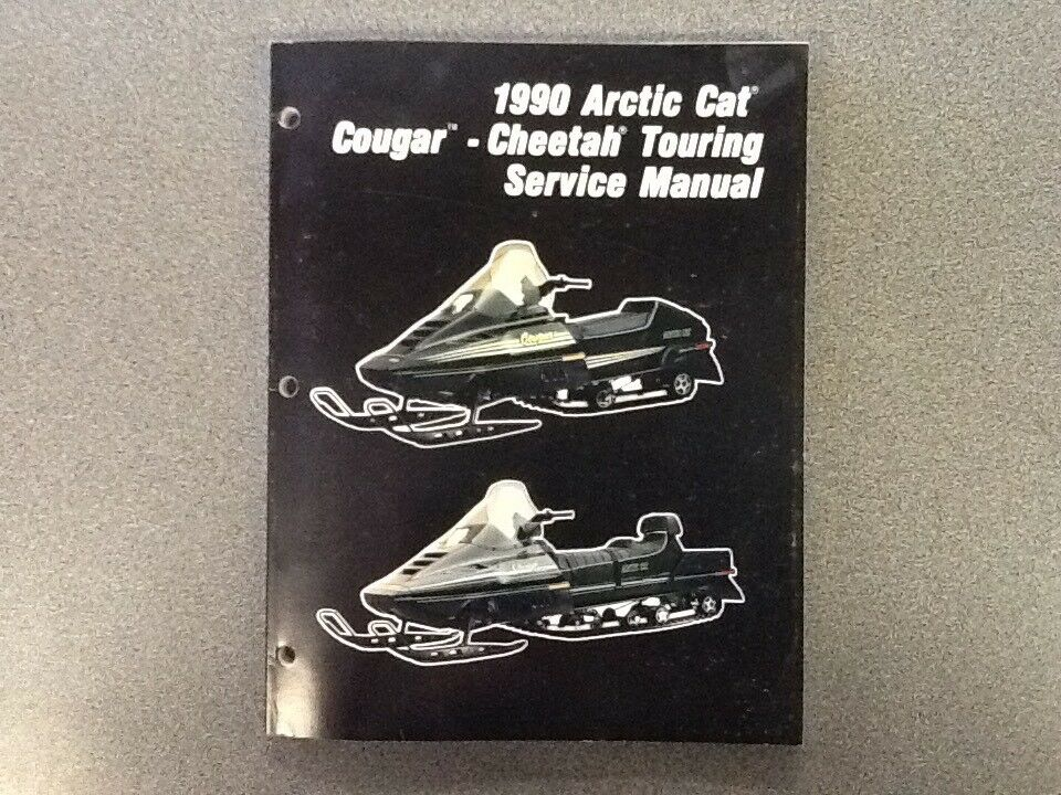 ARCTIC CAT OEM SERVICE MANUAL 1990 COUGAR CHEETAH TOURING 2254-575