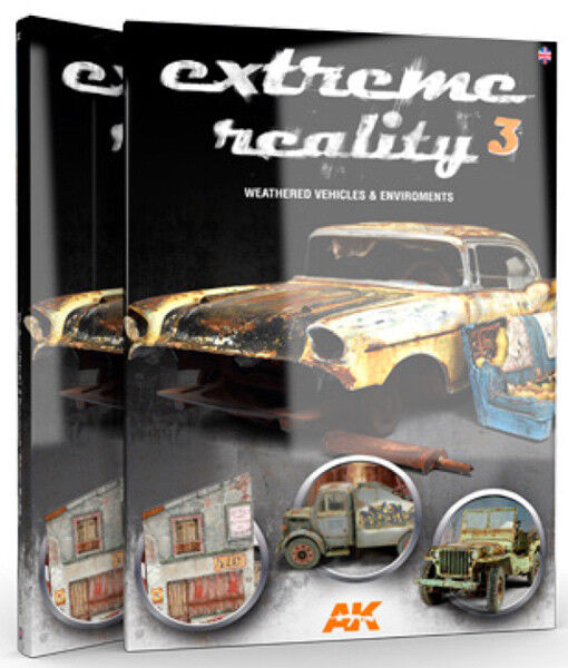 AK Interactive  AKI-510 Extreme Reality 3 - Weathered Vehicles & Environments