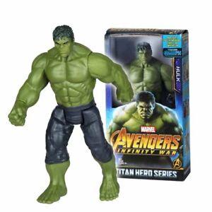 Hulk-Actionfiguren-Marvel-Avengers-3-Infinity-War-12-034-Titan-Hero-Serie-30cm-Neu