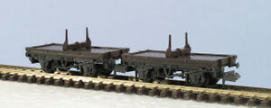 N-wagon-kit-Pair-of-10ft-wheelbase-single-Bolster-PECO-KNR-39-free-post