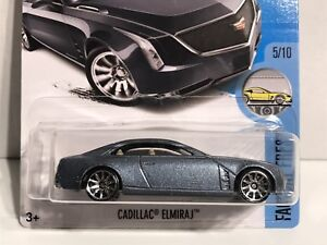 Hot Wheels 2017 Hw Factory Fresh 5 10 Cadillac Elmiraj Blue F 105 Ebay