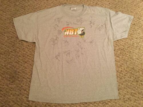 97x Next Big Thing Concert 2002 Shirt autograph mu