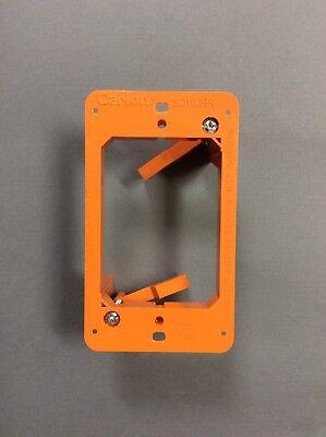 10x 1 Gang Low Voltage Multipurpose Wall Plate Bracket Mount Drywall Mounting Nieuwe Rassen Worden Na Elkaar GeïNtroduceerd