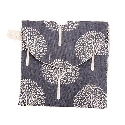 17 Style Nice Cotton Cartoon Sanitary Napkin Bags Sanitary Towel Storage Bag WB