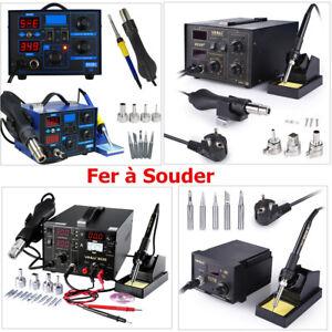 Station-de-Soudage-Fer-a-Souder-Air-Chaud-Soudure-Electrique-SMD-Numerique-LCD