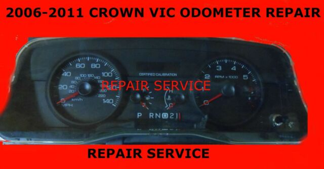 Ford Crown Vic Odometer Ipc Speedometer Repair  Hour Turnaround