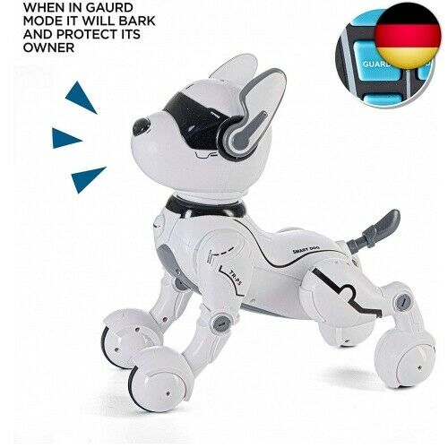 Remote Control Robot Dog Toy RC Dog Toy Robot for Children Aged 2,3,4,5 Years