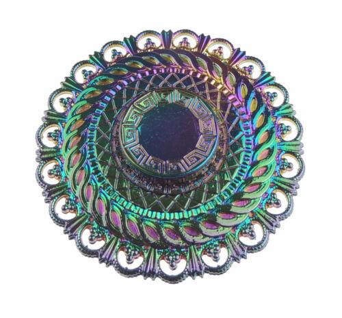 Iridescent Time Machine Main Doigt Spinning Bangers Spinner Vendeur Britannique