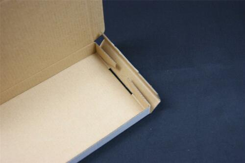 50 Blanc POSTAL boîtes en carton postale expédition Cartons grande lettre PIP OP1