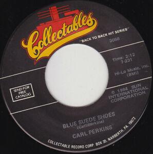 "CARL PERKINS - Blue Suede Shoes 7"" 45"