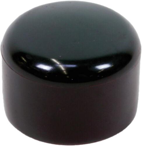 25 St Zaunpfosten Ersatzkappe Pfosten Pfostenkappe 34 mm schwarz Abdeckkappe f