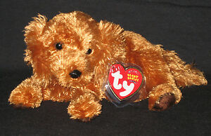 TY FITZ the DOG BEANIE BABY - MINT with MINT TAGS