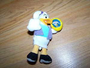 Disney House Of Mouse Daisy Duck Plush Figure W Vinyl Head Mcdonalds