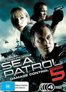 Sea-Patrol-Damage-Control-Season-5-Five-Fifth-Serie-4-Disc-DVD-FREE-POST