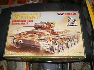 Maquette Mq 3553 1 35 British Valentine Xi Ebay
