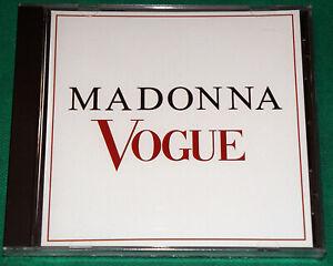 Madonna-Vogue-BRAZIL-Promo-Cd-1990-WEA-NO-BARCODE