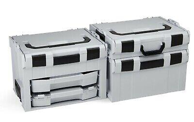 Bosch Sortimo LS-Boxx 306 anthrazit mit i-Boxx 72 I3 und LS-Schublade 72