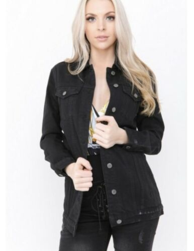 THE ROCKN REV Denim Jacket BLACK