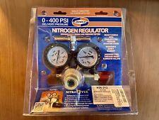 Uniweld Rhp400 Nitrogen Regulator With 0 400 Psi Delivery Pressure Cga580 Inlet