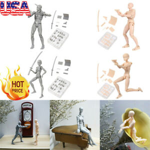 Drawing Action Figure Model Body Kun Chan Figuarts Mannequin DIY Doll Artist Toy