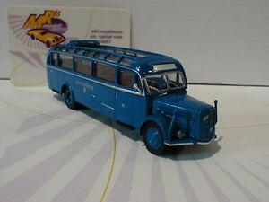 Brekina-Starline-58074-Saurer-BT-4500-Baujahr-1949-034-Austrobus-034-in-blau-1-87