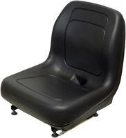Ford Holland Skid Steer Seat Blk Fits Lx465, Lx485, Lx565, Lx665, Lx865, Qh
