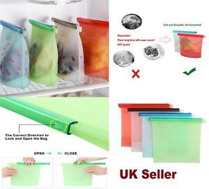 1-Litre-1-5-Litre-Silicone-Food-Storage-Bag-Freezer-Reusable-Seal-Ziplock-Vacuum