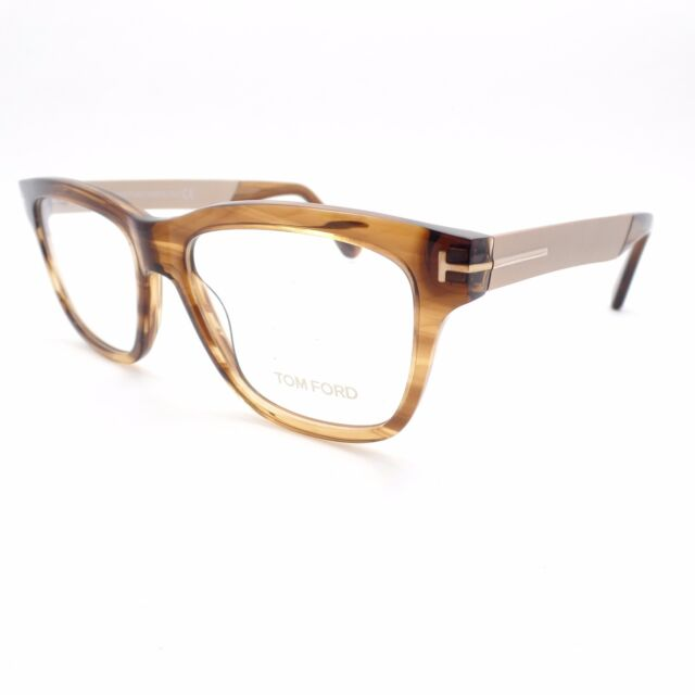 79051daf1e03 Tom Ford Eyeglasses Ft5372 048 Shiny Dark Brown 52mm for sale online ...