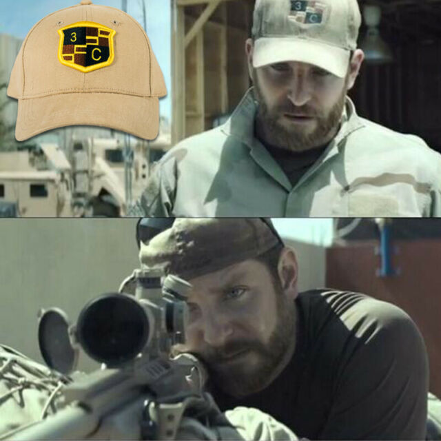 American Sniper Cosplay Chris Kyle Hat Navy Seal Team Special Force  Tactical Cap