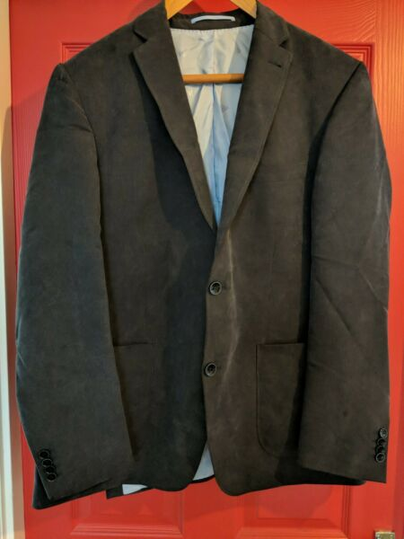 #620 Roy Robson Giacca Blu Navy Scuro Blazer Taglia 52