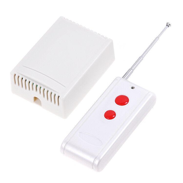 12v 2 Channel Wirelsss Remote Control Switch Board Relay