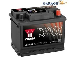 ACCUMULATORE-AUTO-YUASA-YBX3027