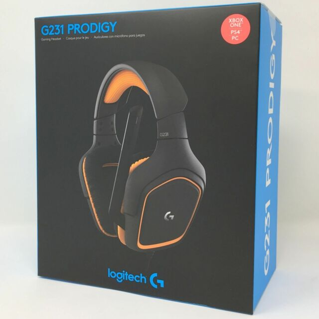 8ee9e9b753c Logitech G231 Prodigy Gaming Headset Microphone for Xbox PS4 and PC FREE  SHIP