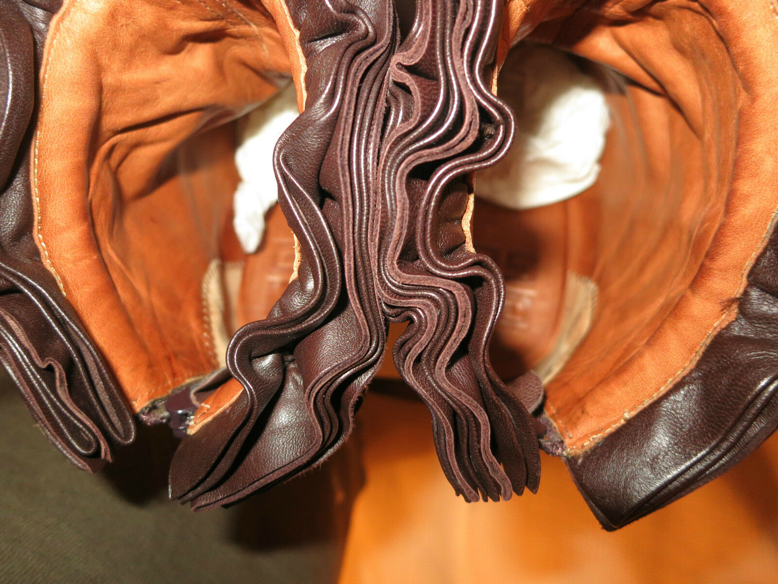 Neuw. Givenchy wildleder plateau Stiefelette Stiefelette Stiefelette Stiefel m.Lederrüschen NP  Gr.41 1675e7