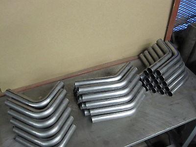 """2"""" inch OD Mandrel bend 16 ga mild steel for custom motorcyle or hotrod headers"""