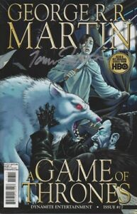 SIGNED-TOMMY-PATTERSON-ARTIST-GEORGE-R-R-MARTIN-GAME-OF-THRONES-17-1st-PRINT-NM