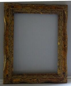 Aimee-Baroque-Burnished-Antique-gold-Handmade-Picture-art-Wood-frame-9-x-12-In