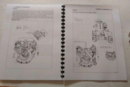 Service Manual for Kawasaki FH451V FH500V FH531V FH541V FH580V Printed and Bound
