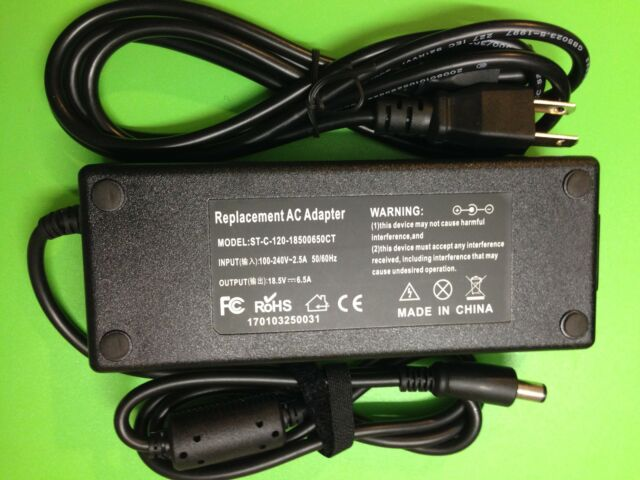 120W  AC adapter power charger for HP Compaq 384023-001 391174-001 From Canada