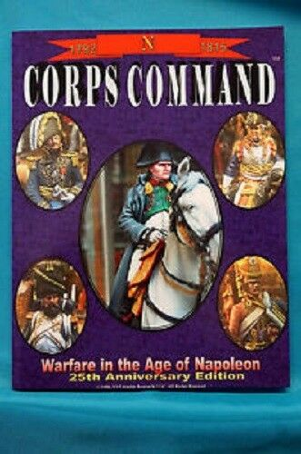 CORPS COMMAND 25TH ANNIVERSARY EDITION - WARGAMES RULES - NEW