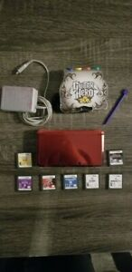Nintendo-3DS-Console-Red-With-7-Games