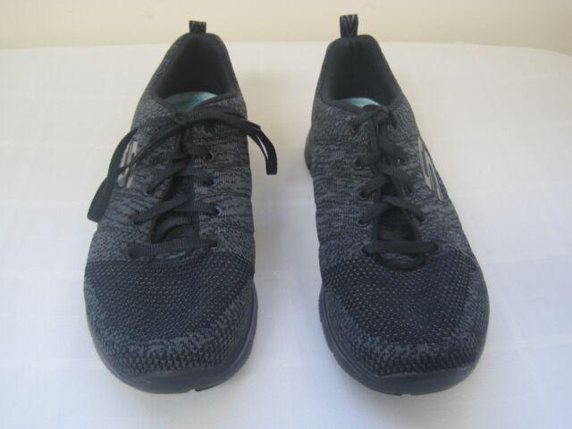 NEU SKECHERS Damen Sneakers FLEX APPEAL 2.0 HIGH ENERGY Schwarz | eBay