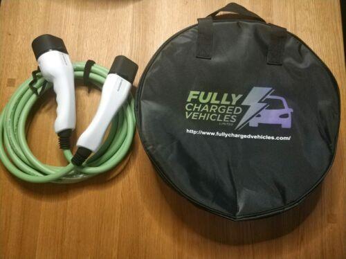 Cable de carga para Hyundai ioniq//Kona 10M 32A carga en 7.5 kWh carga rápida